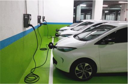 Punt de recarrega - vehiculo electrico1